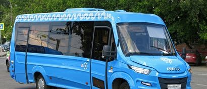 Москвичи смогут вызывать общественные автобусы в любое место с помощью смартфона. Видео