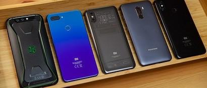 Россияне могут остаться без смартфонов Xiaomi, Huawei и Realme из-за американских санкций