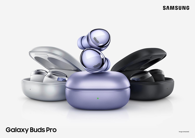 Samsung Galaxy Buds Pro: беспроводные наушники с усовершенствованной системой шумоподавления за €229