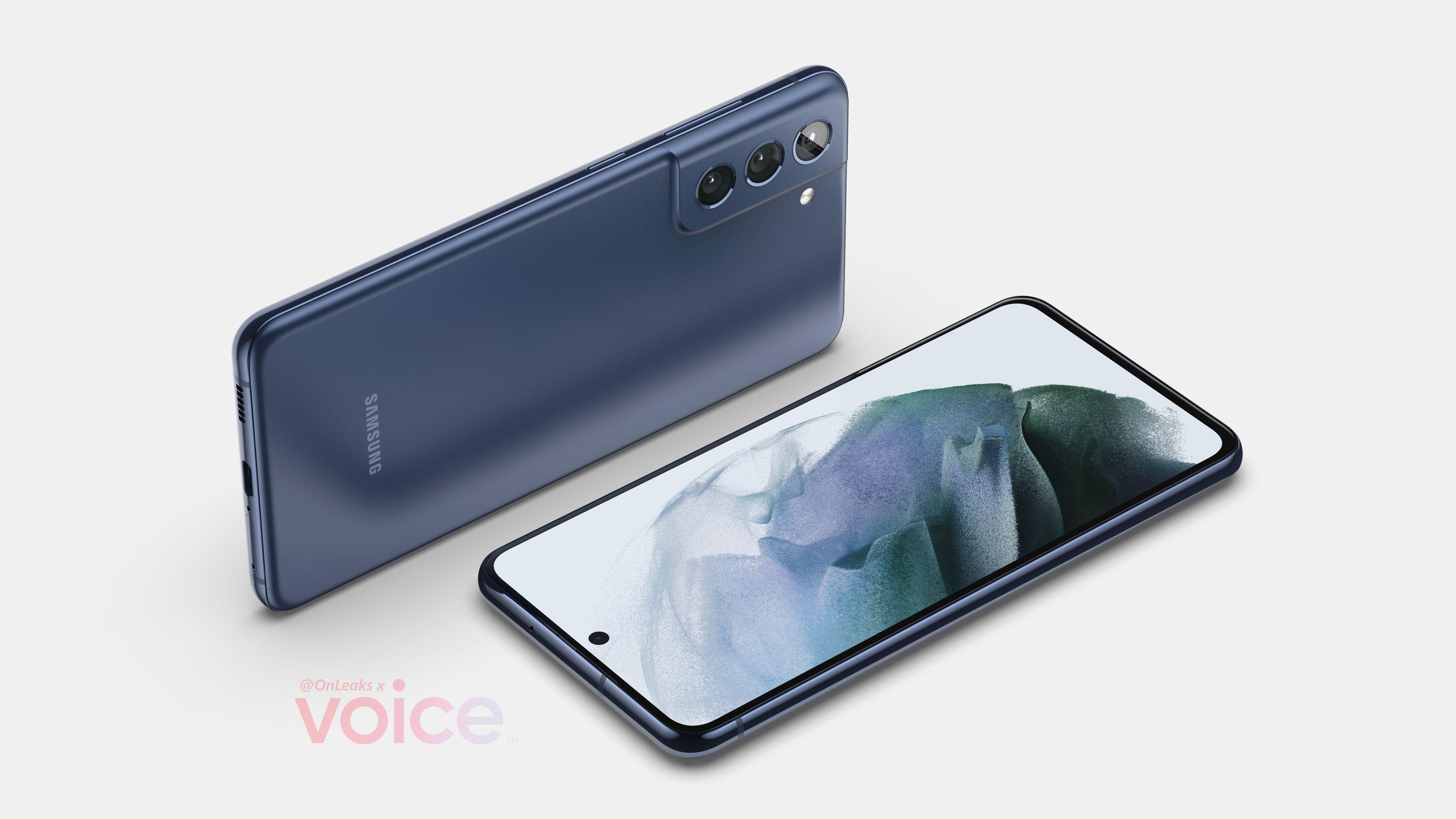 Samsung Galaxy S21 FE на рендерах: почти копия Galaxy S21, но крупнее и дешевле