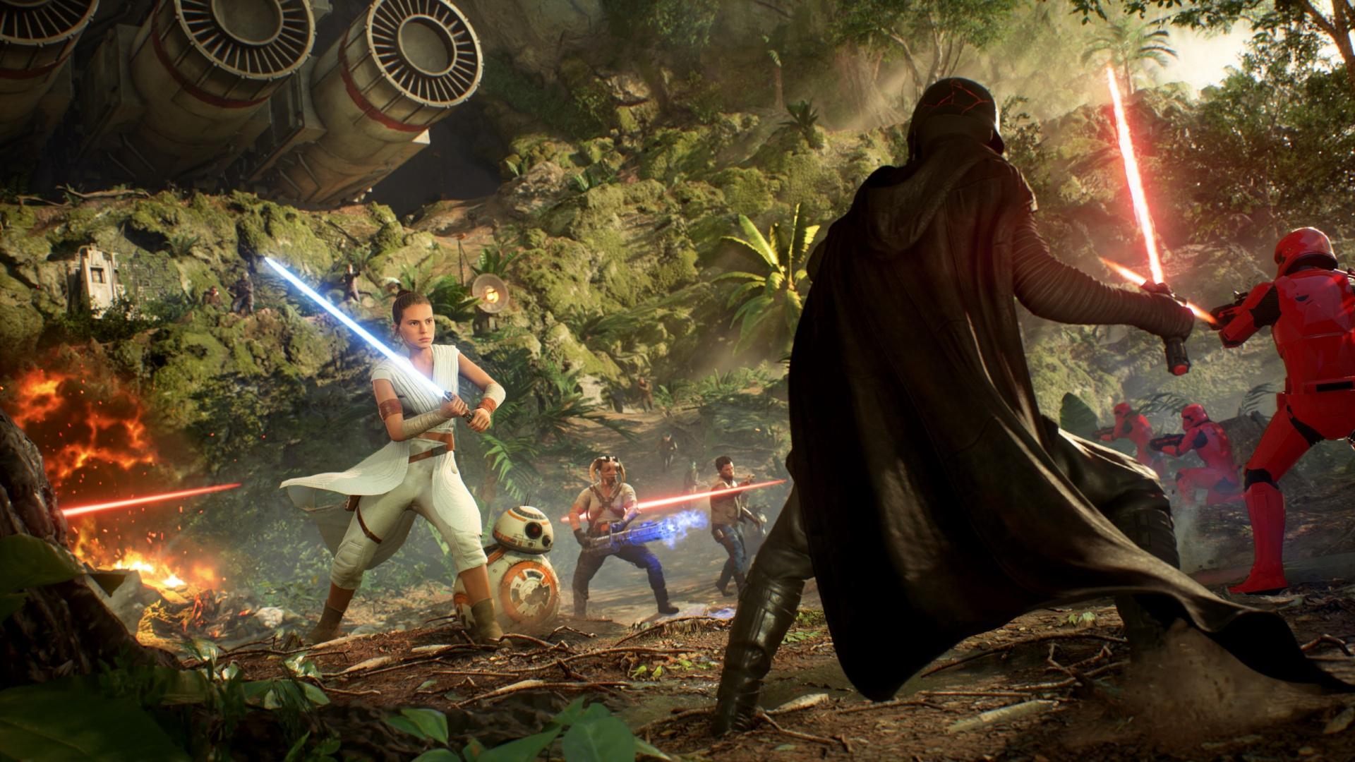В Epic Games Store раздают лучшее издание Star Wars Battlefront 2 для ПК
