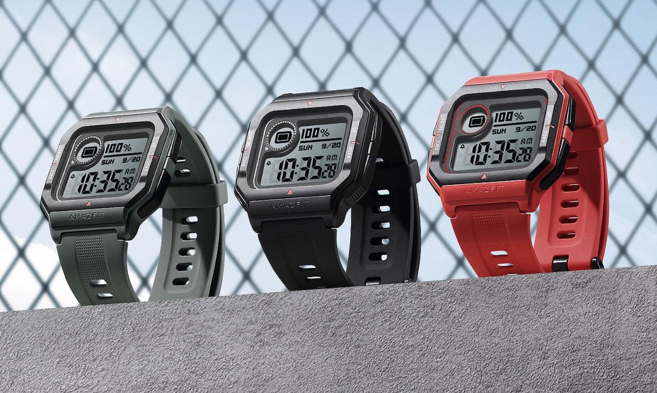 Смарт-часы Amazfit Neo с ретро-дизайном и автономностью до 28 дней можно купить сейчас на AliExpress за $33