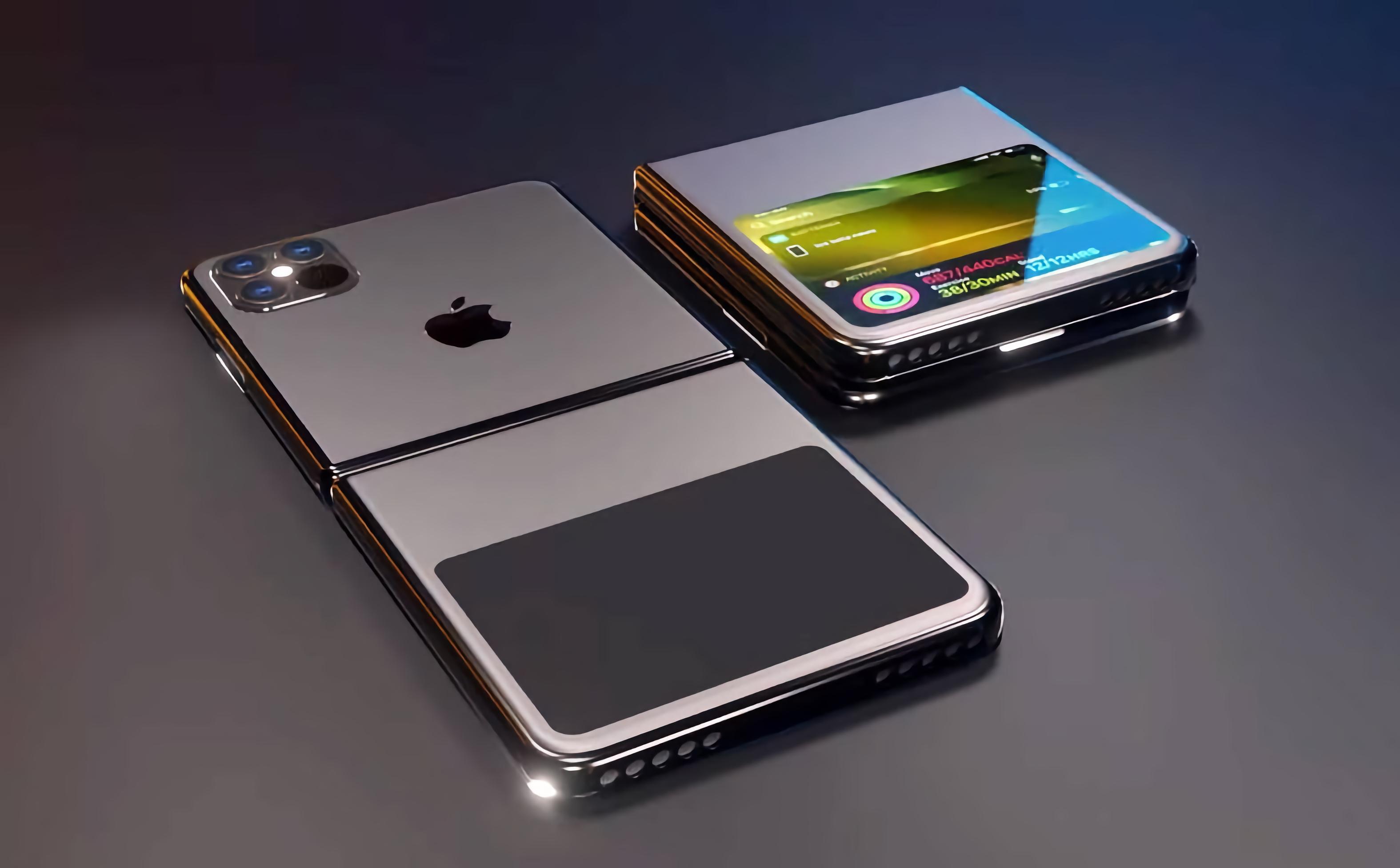 Инсайдер: первый складной смартфон Apple получит дизайн, как у Galaxy Z Flip, OLED-дисплей Samsung и множество разных цветов