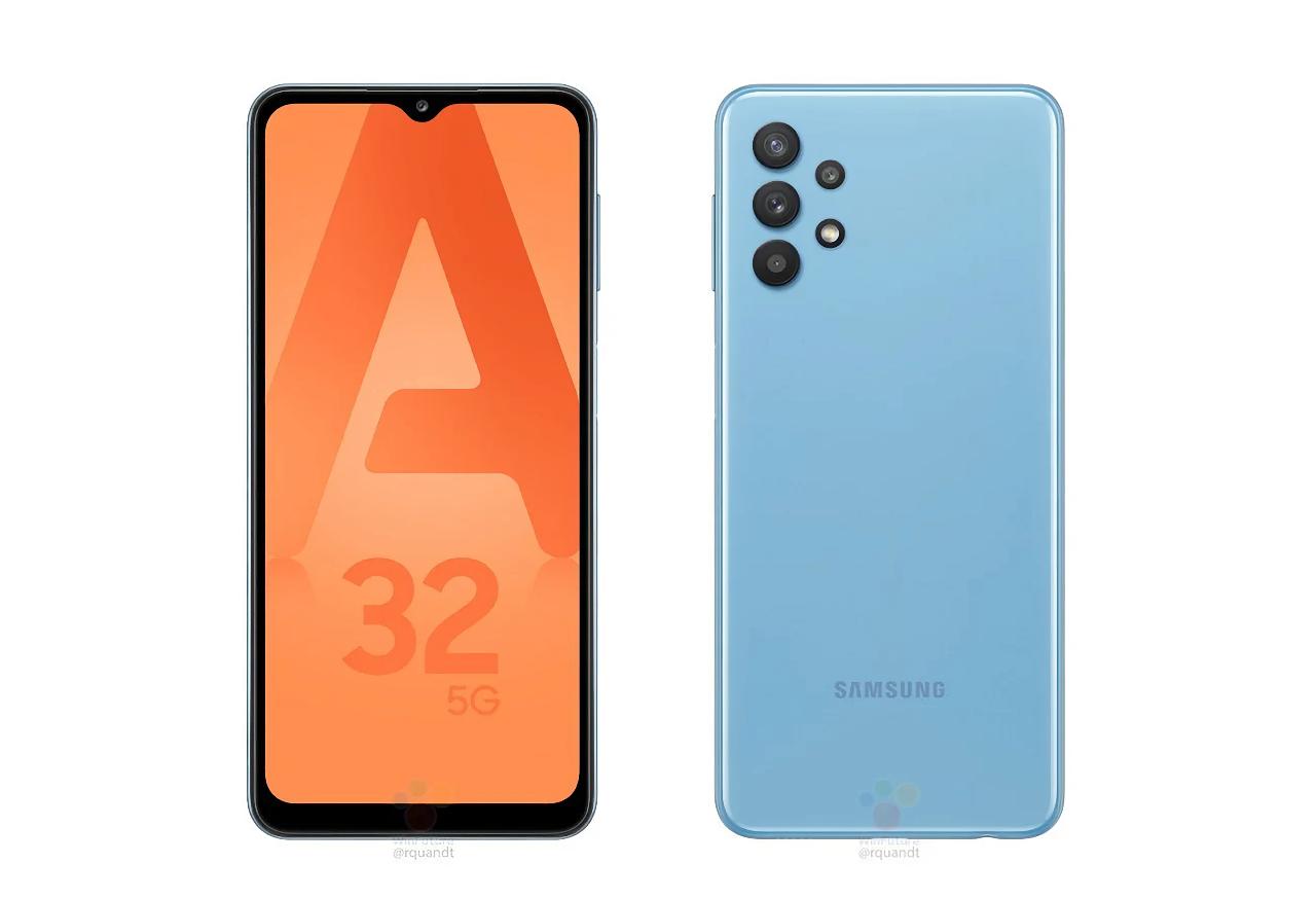 Самый дешёвый 5G-смартфон Samsung появился на официальных рендерах до анонса
