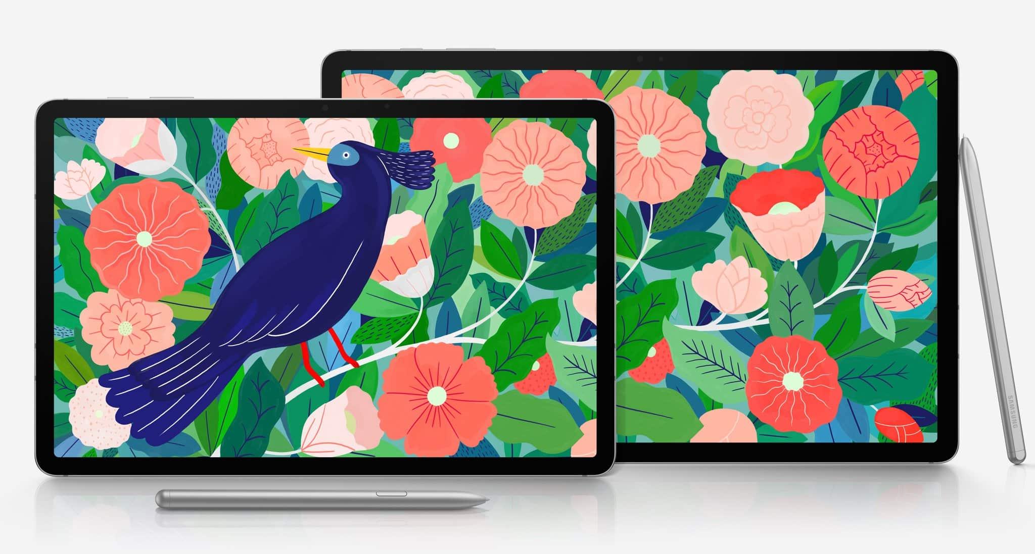 Samsung готовит к выходу планшеты Galaxy Tab S8 и Galaxy Tab S8+ с чипами Snapdragon 888 и Android 11 на борту