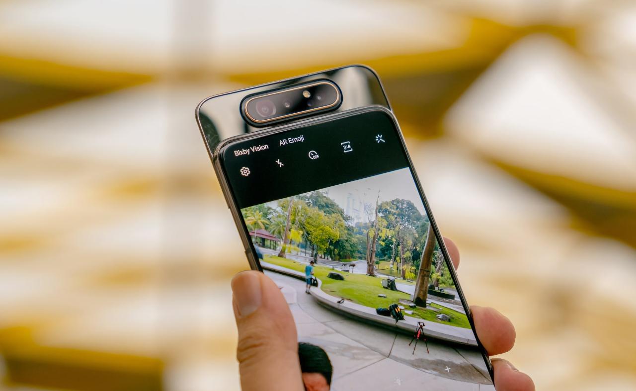 Samsung Galaxy A82 с поворачивающийся камерой получит основной датчик Sony на 64 МП
