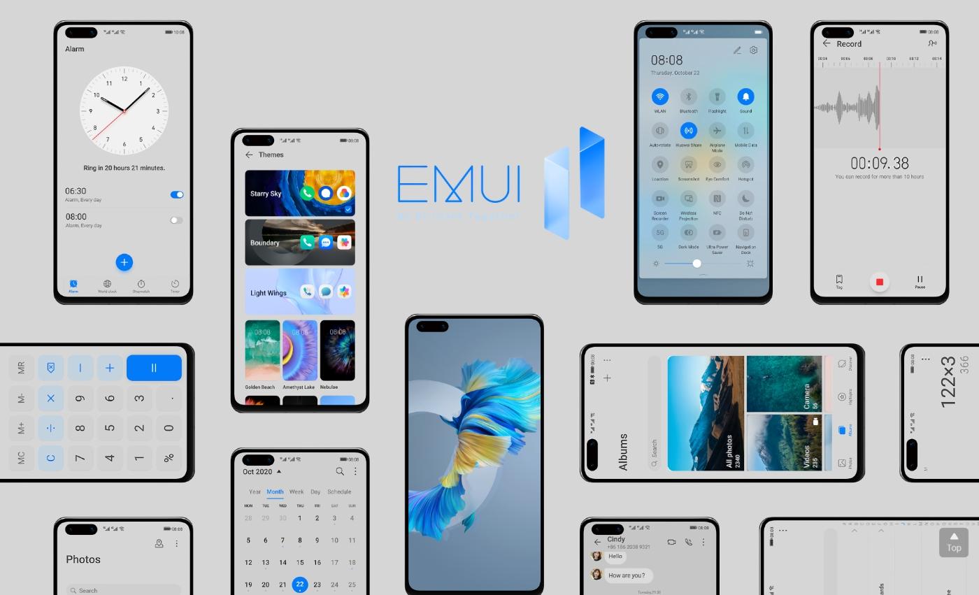 Huawei P40, Huawei P40 Pro, Huawei P40 Pro+ и Huawei Mate 30 Pro получили стабильную версию EMUI 11 на глобальном рынке