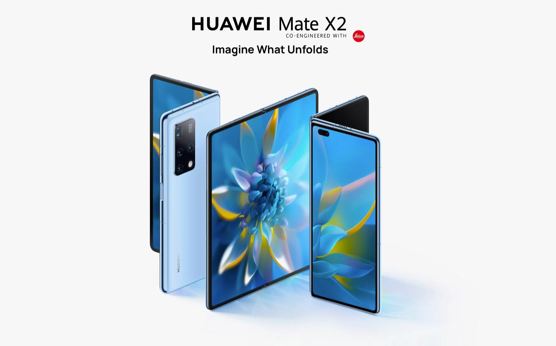 Huawei Mate X2: конкурент Galaxy Z Fold 2 с двумя OLED-экранами на 90 Гц, обновлённым шарниром, чипом Kirin 9000 и квадро-камерой за $2785