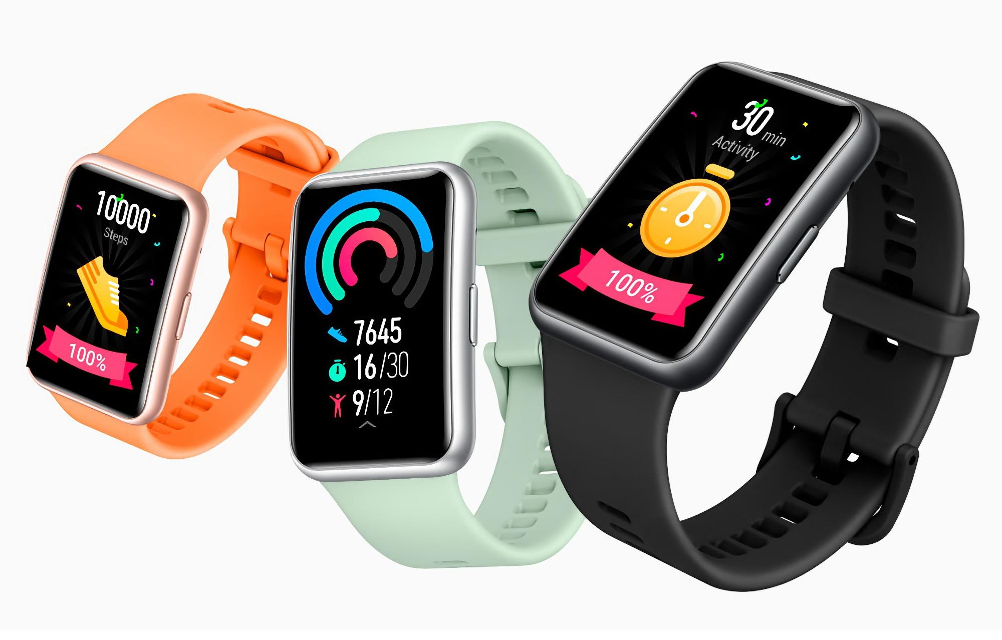 Huawei Watch Fit получили новое обновление ПО с несколькими полезными функциями