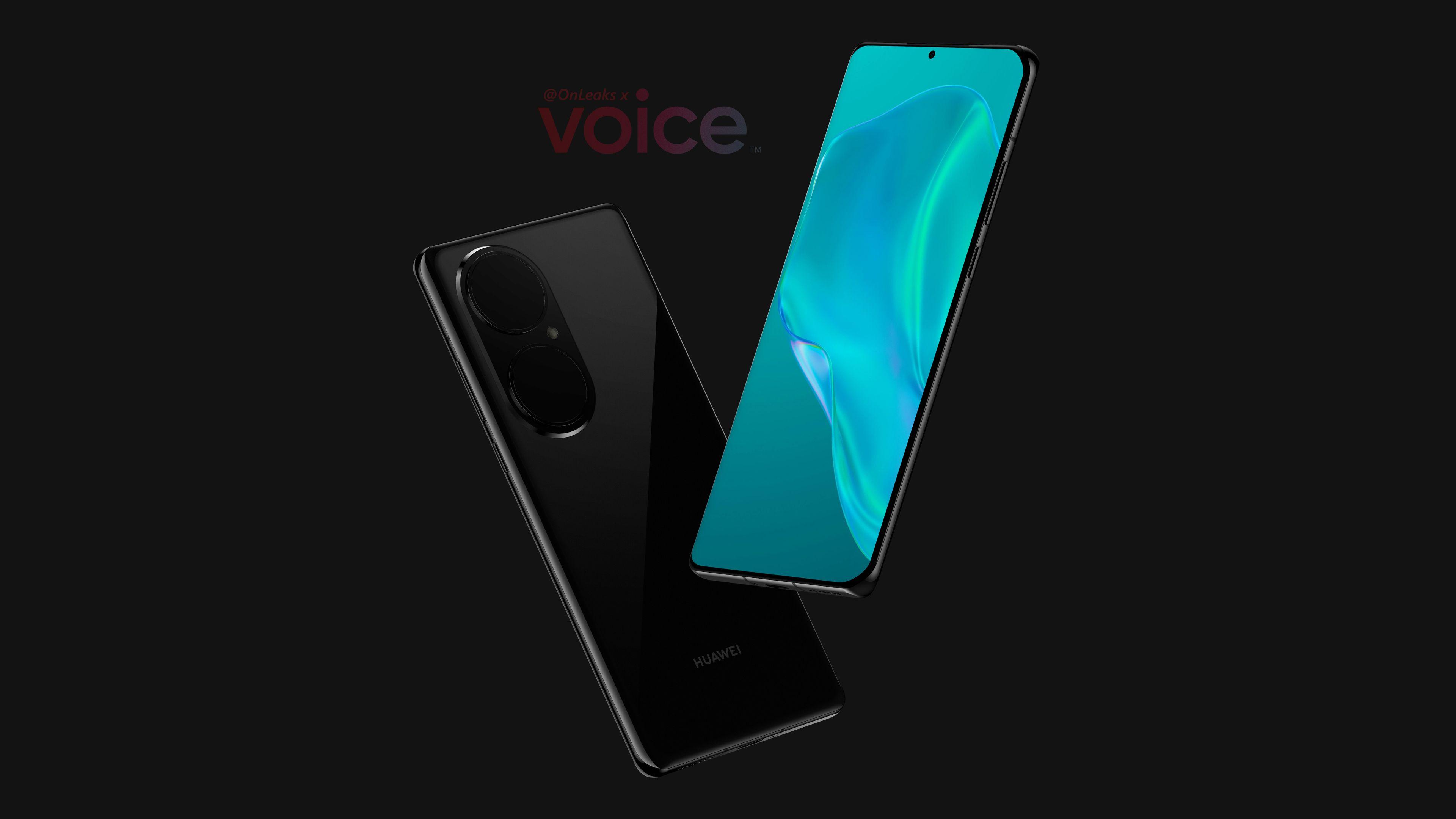 Huawei P50 Pro появился на CAD-рендерах: дисплей с ультратонкими рамками и гигантская камера с дизайном, как у Nova 8