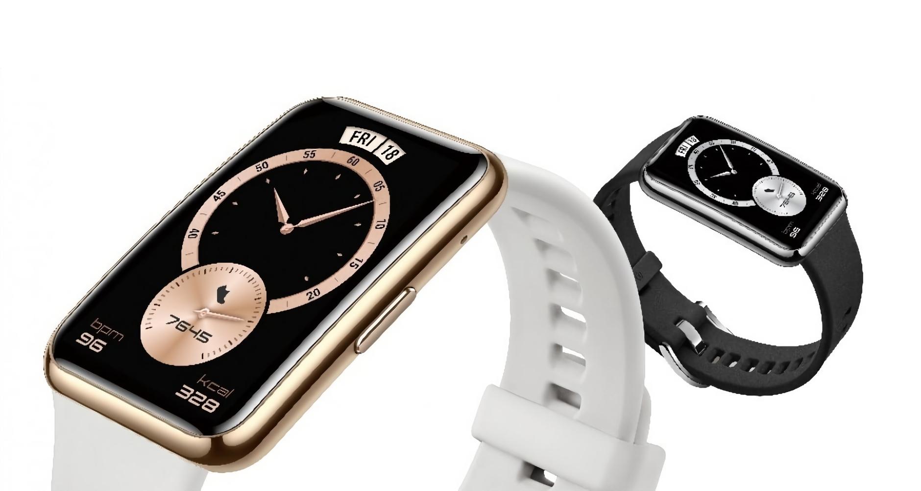 Huawei Watch Fit Elegant: улучшенная версия Watch Fit со стальной рамкой и новыми цветами