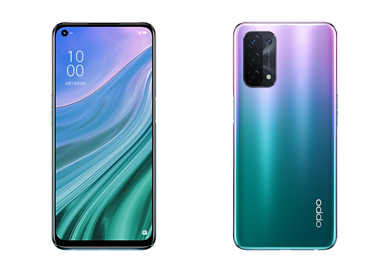В сеть утекли подробности смартфон OPPO A54 5G: IPS-дисплей, чип Snapdragon 480, батарея на 5000 мАч и ценник около 200-300 евро