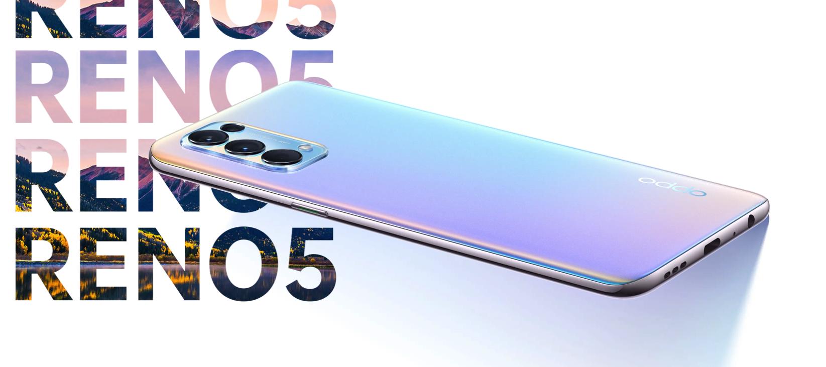 OPPO Reno 5 4G: 6.4-дюймовый AMOLED-дисплей на 90 Гц, чип Snapdragon 720G, квадро-камера, Android 11 и ценник в $377