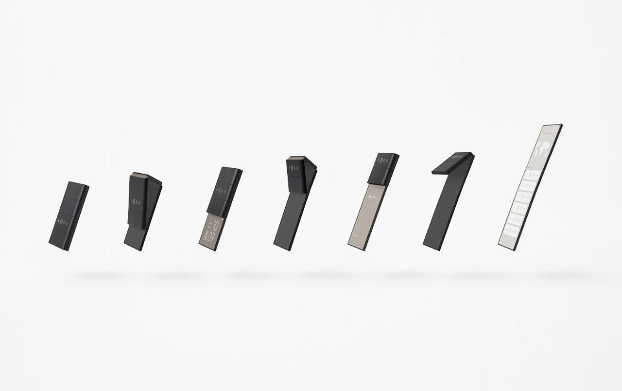 OPPO показала «слайд-фон»: концепт компактного складного устройства, которое сгибается в трёх местах