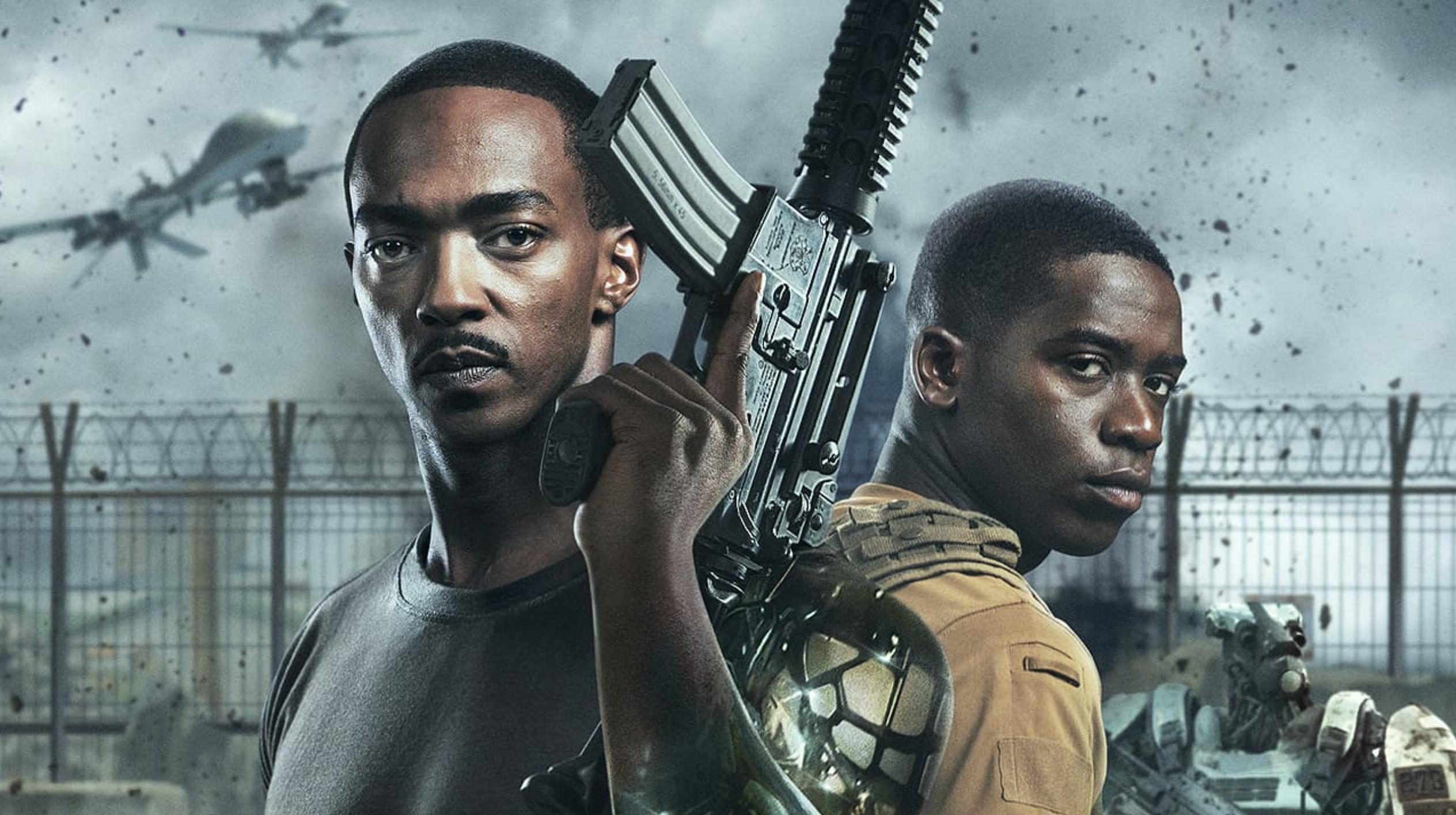 Outside the Wire: первый фильм Netflix, который вышел с украинской озвучкой