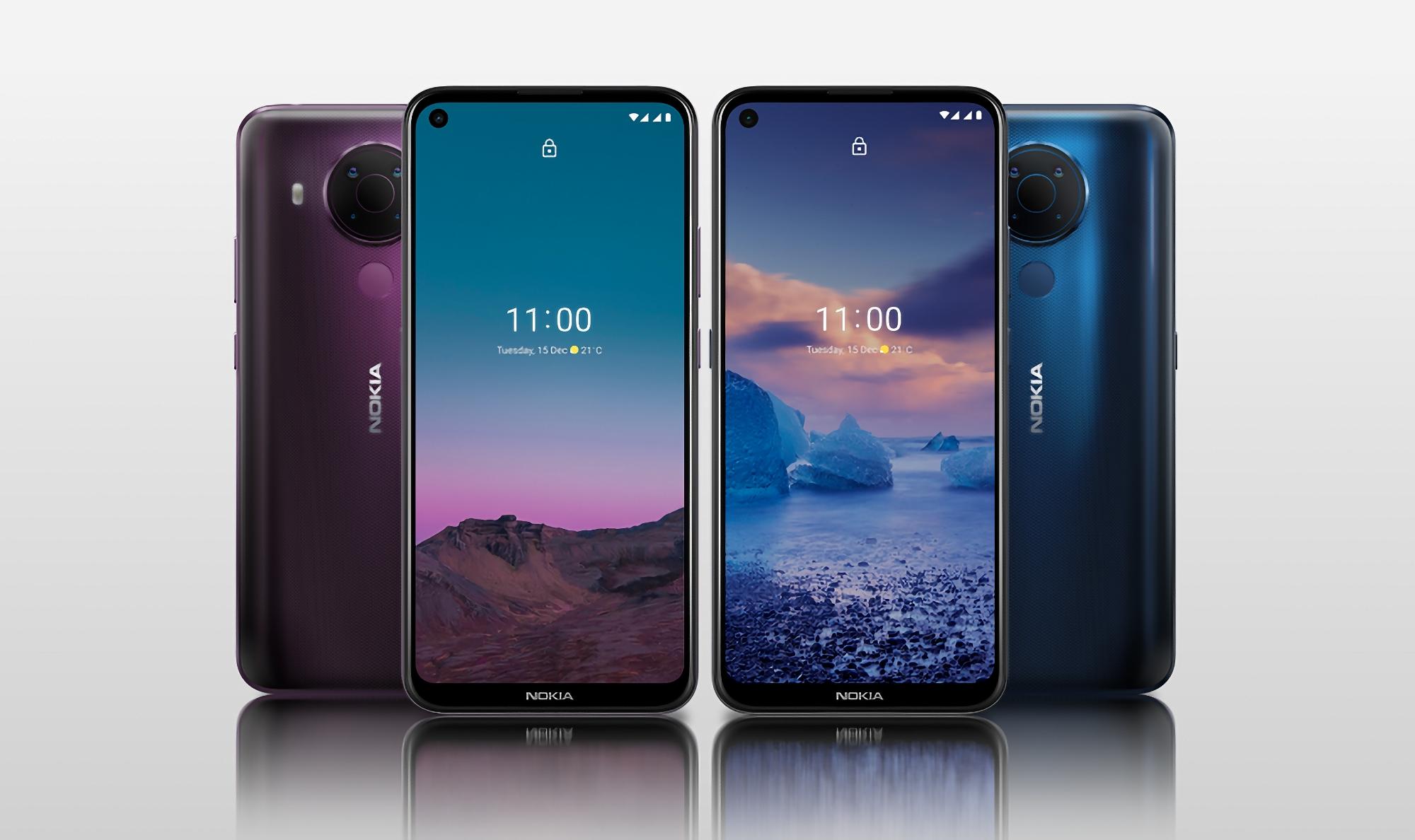 Nokia 5.4 в комплектации 4/64 ГБ стоит 5 499 грн и работает на последней версии Android (на самом деле нет)