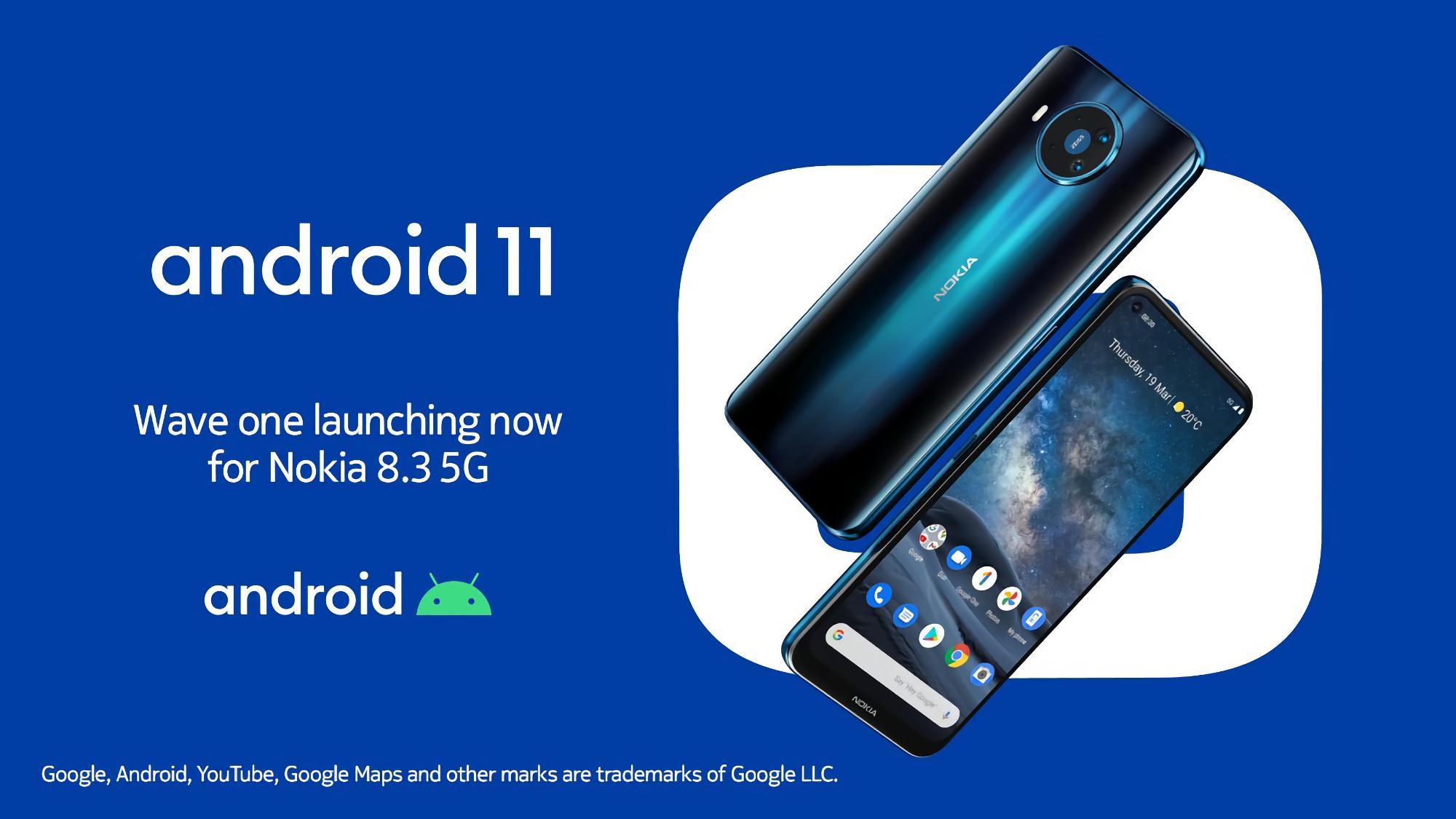 HMD Global, наконец-то, выпустила стабильную версию Android 11 для Nokia 8.3 5G
