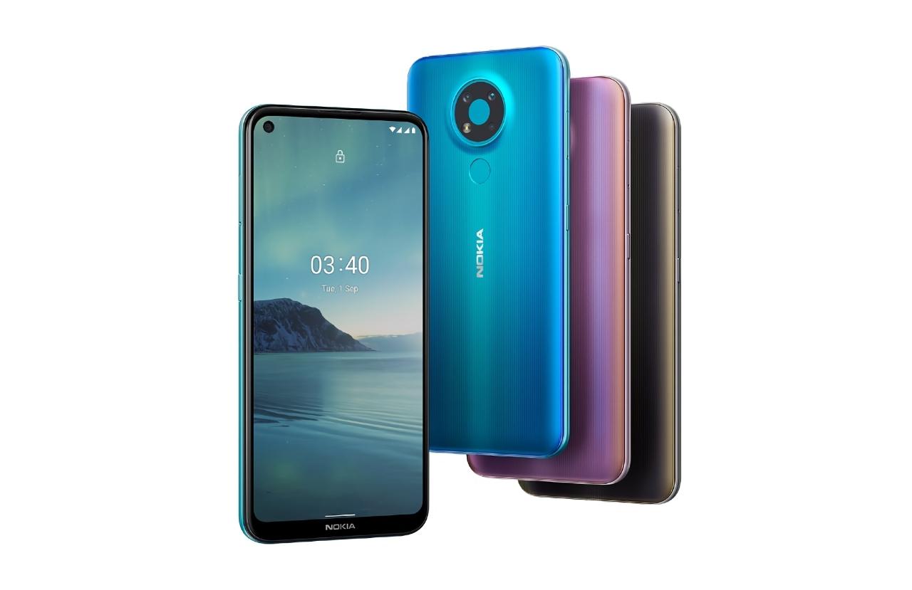 Nokia 5.4 готова к анонсу: смартфон заметили в FCC с дизайном, как у Nokia 3.4