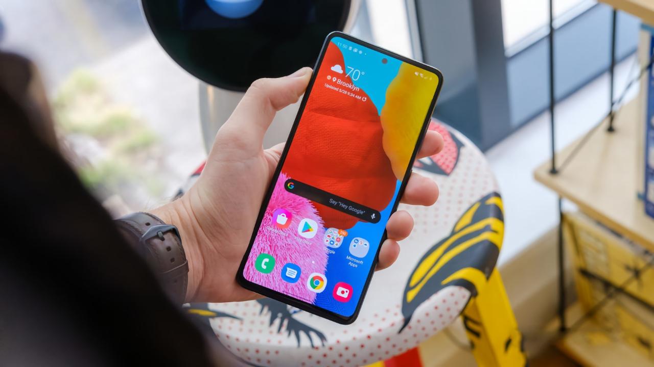 Samsung начинает бета-тестирование Android 11 с оболочкой One UI 3.0 на Galaxy A51 5G