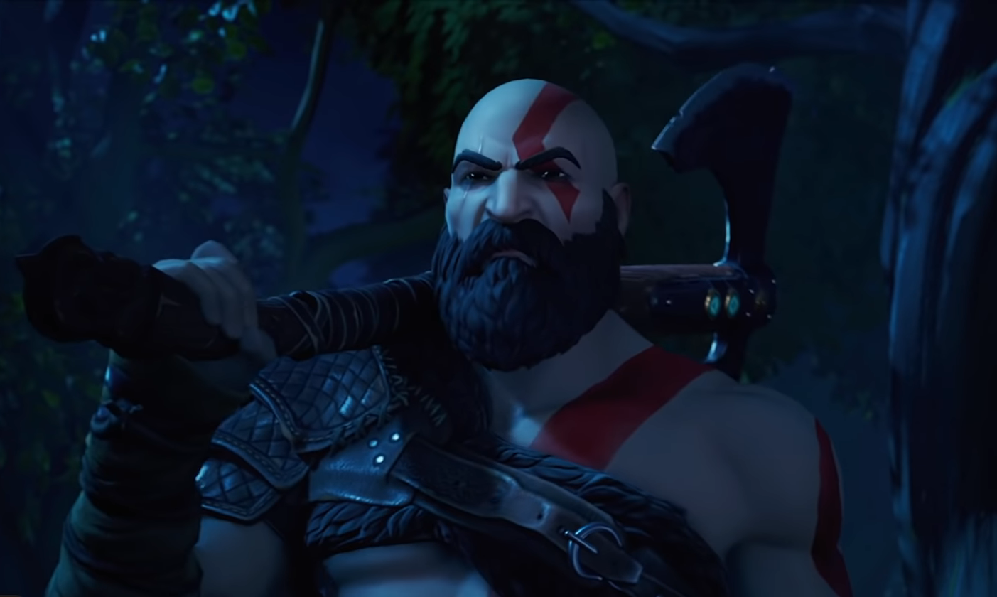 Частичка God of War на ПК: Кратос прибыл в Fortnite и доступен на всех платформах