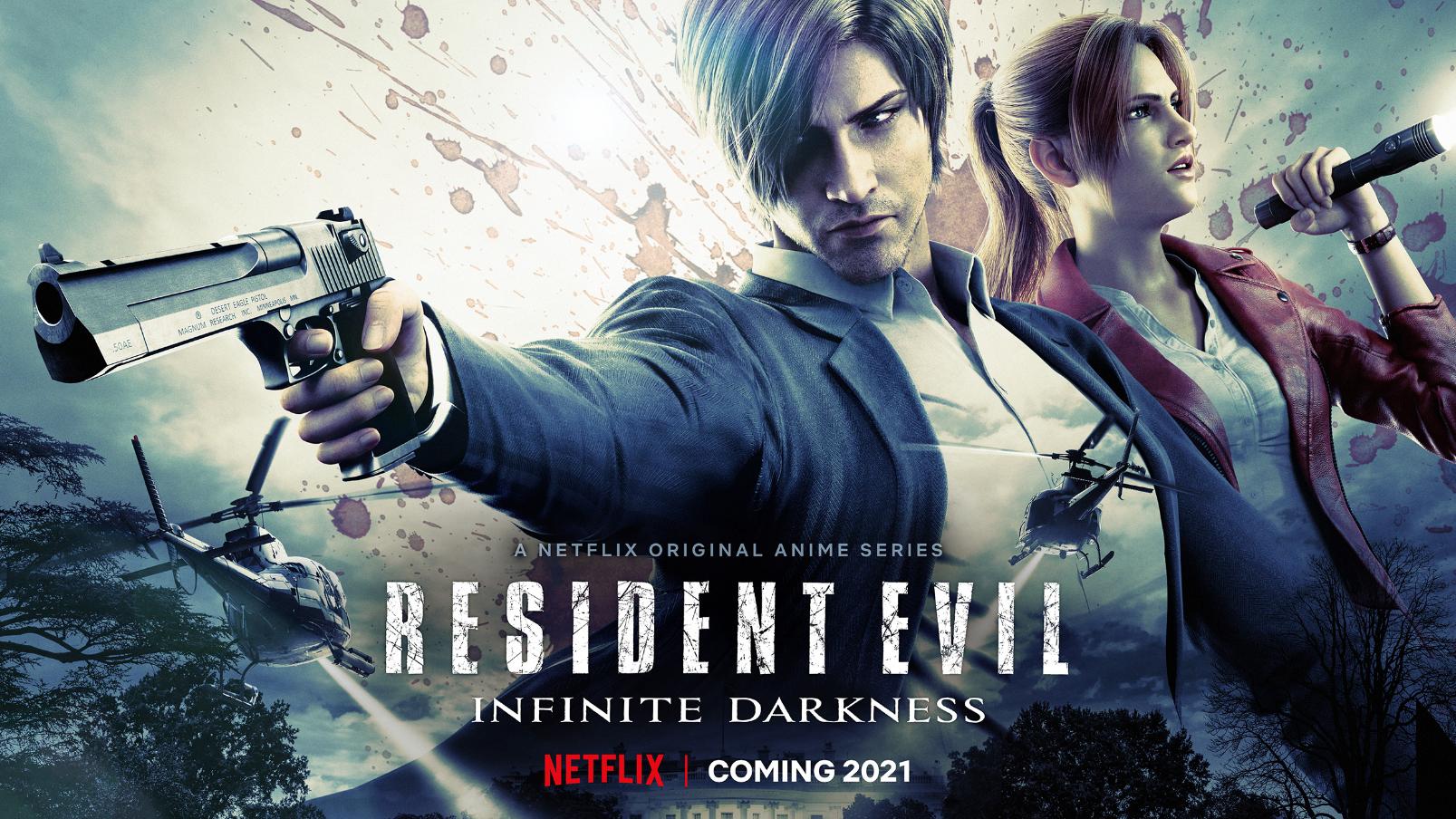 Каноничнее некуда: первые кадры Resident Evil Infinite Darkness с подробностями о сериале