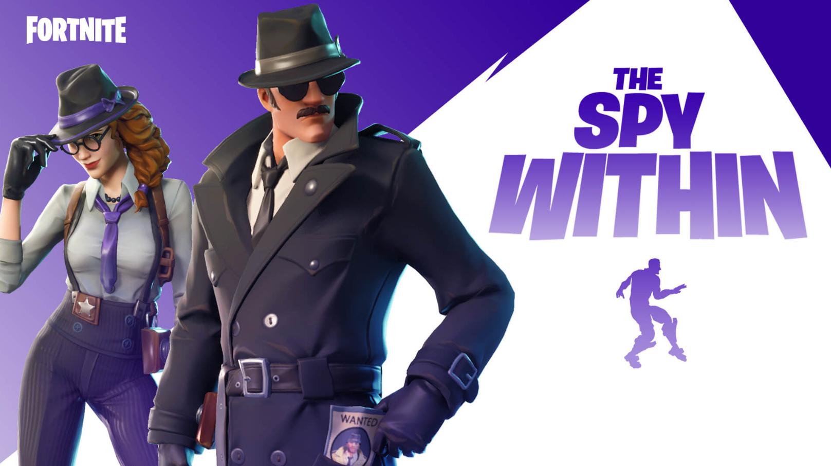 Epic Games хайпит: в Fortnite появился режим в стиле хитовой Among Us с Агентами и Шпионами