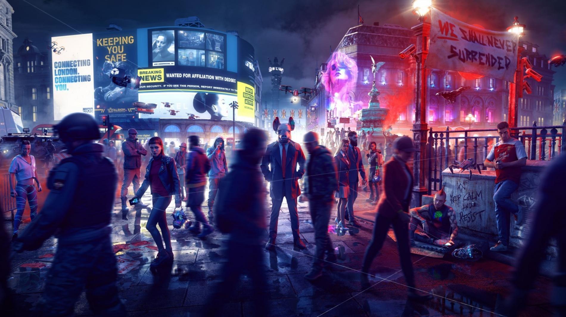 В марте Watch Dogs Legion получит онлайн-режим: не GTA Online, но будут кооперативные миссии и битвы роботов