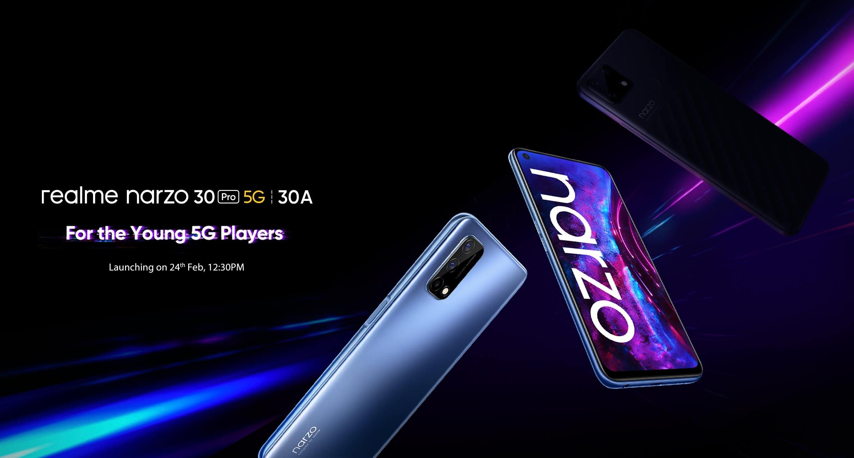 Realme рассказала когда выпустит смартфоны Narzo 30 и TWS-наушники Buds Air 2