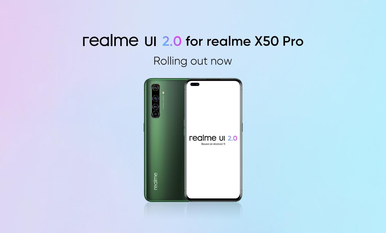 Realme X50 Pro получил Realme UI 2.0 с ОС Android 11: что нового и когда ждать прошивку