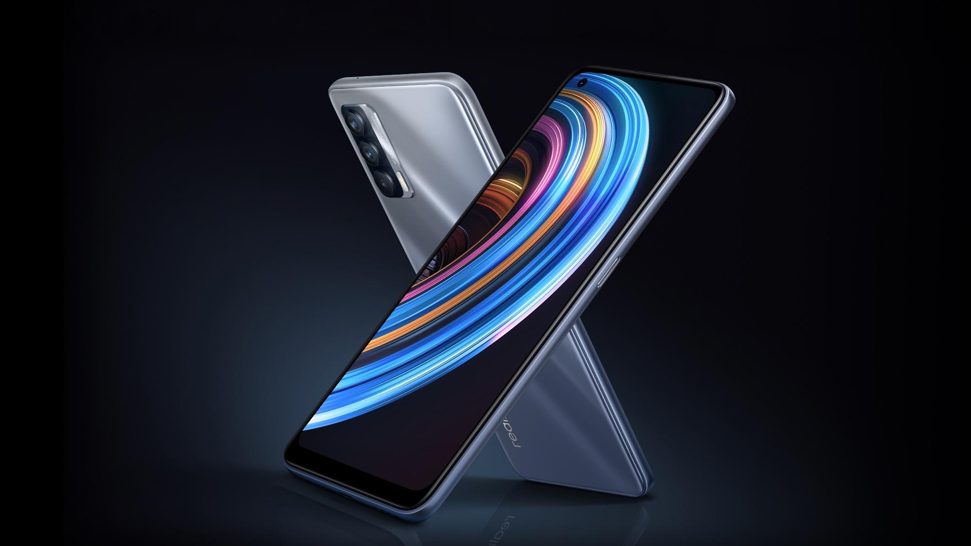 Realme X7 дебютировал на глобальном рынке: копия Realme V15 с чипом MediaTek Dimensity 800U и 50-ваттной зарядкой по цене от $275