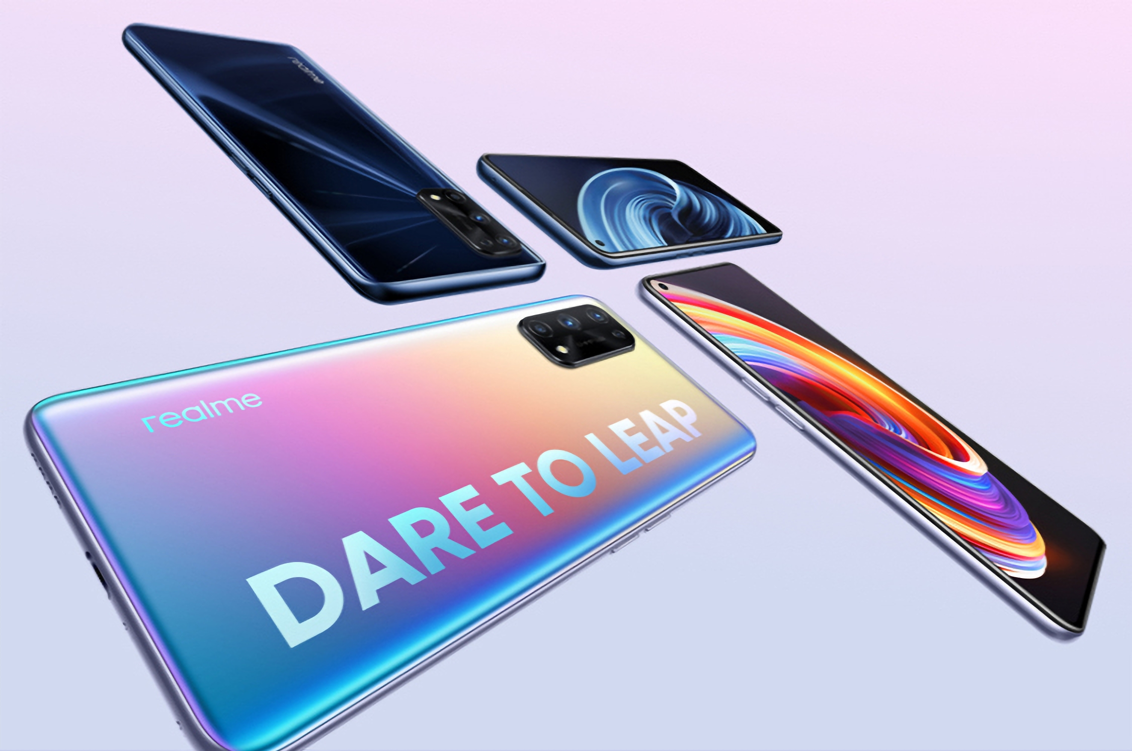 Инсайдер: Realme готовит к выходу специальную версию Realme X7 Pro Extreme Edition c изогнутым экраном Samsung и чипом MediaTek Dimensity 1000+