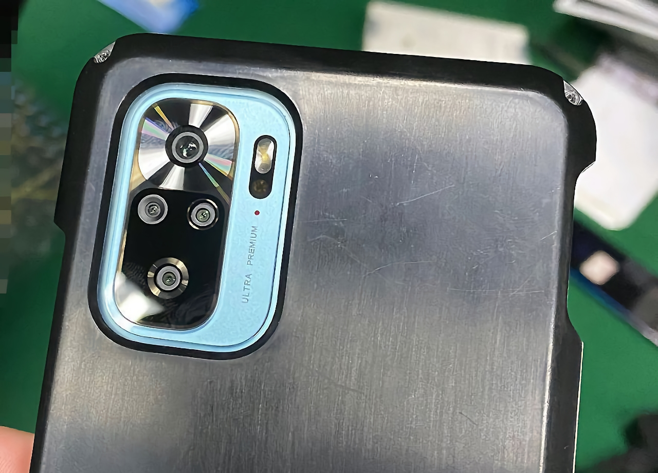 Redmi K40 появился на «живых» фотографиях с отверстием в экране и квадро-камерой