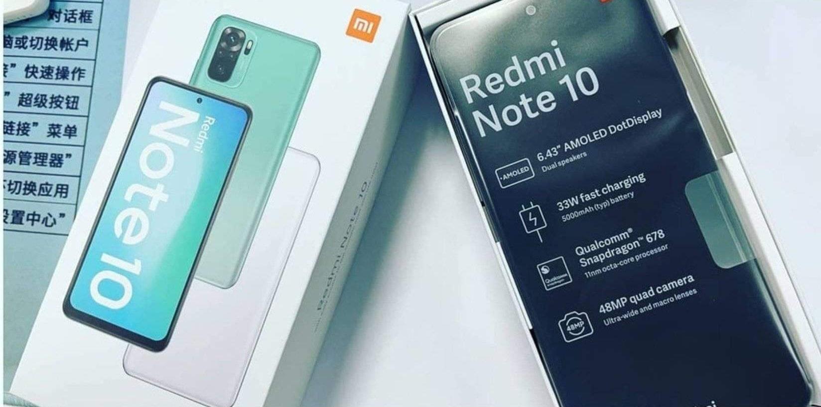 Никогда такого не было и вот опять: в сети появилось видео с распаковкой ещё неанонсированного смартфона Redmi Note 10