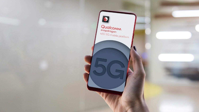 Qualcomm представила чип Snapdragon 480, который сделает 5G-смартфоны еще более доступными