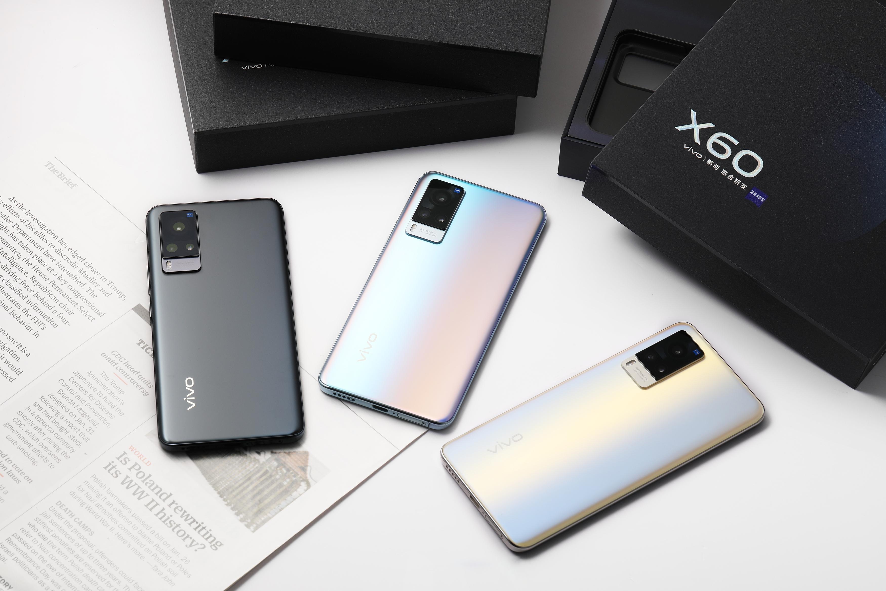 Глобальная презентация Vivo X60 и Vivo X60 Pro состоится 22 марта: смартфоны будут работать на чипе Snapdragon 870