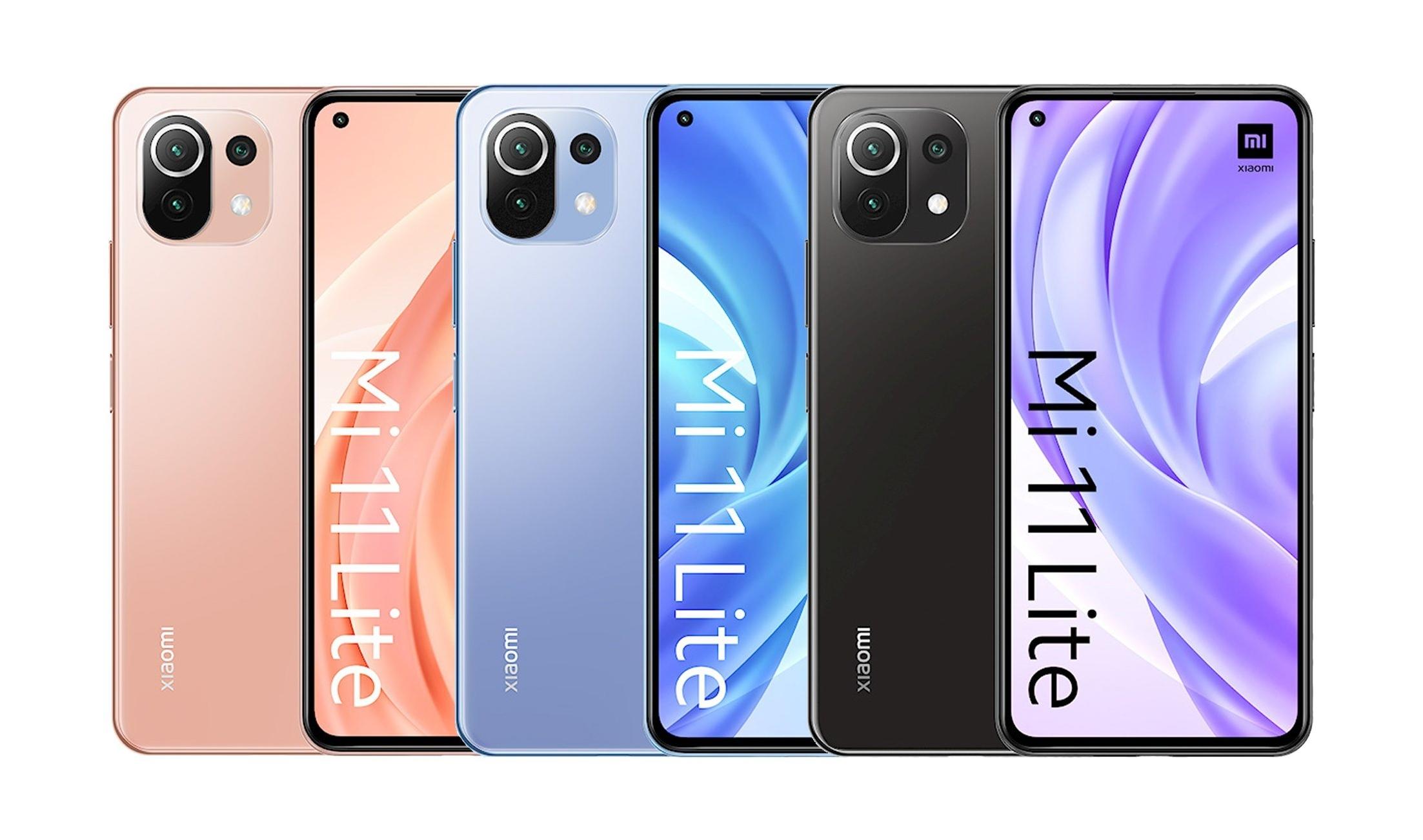 Качественные рендеры, цены и подробные характеристики Xiaomi Mi 11 Lite 4G и Xiaomi Mi 11 Lite 5G