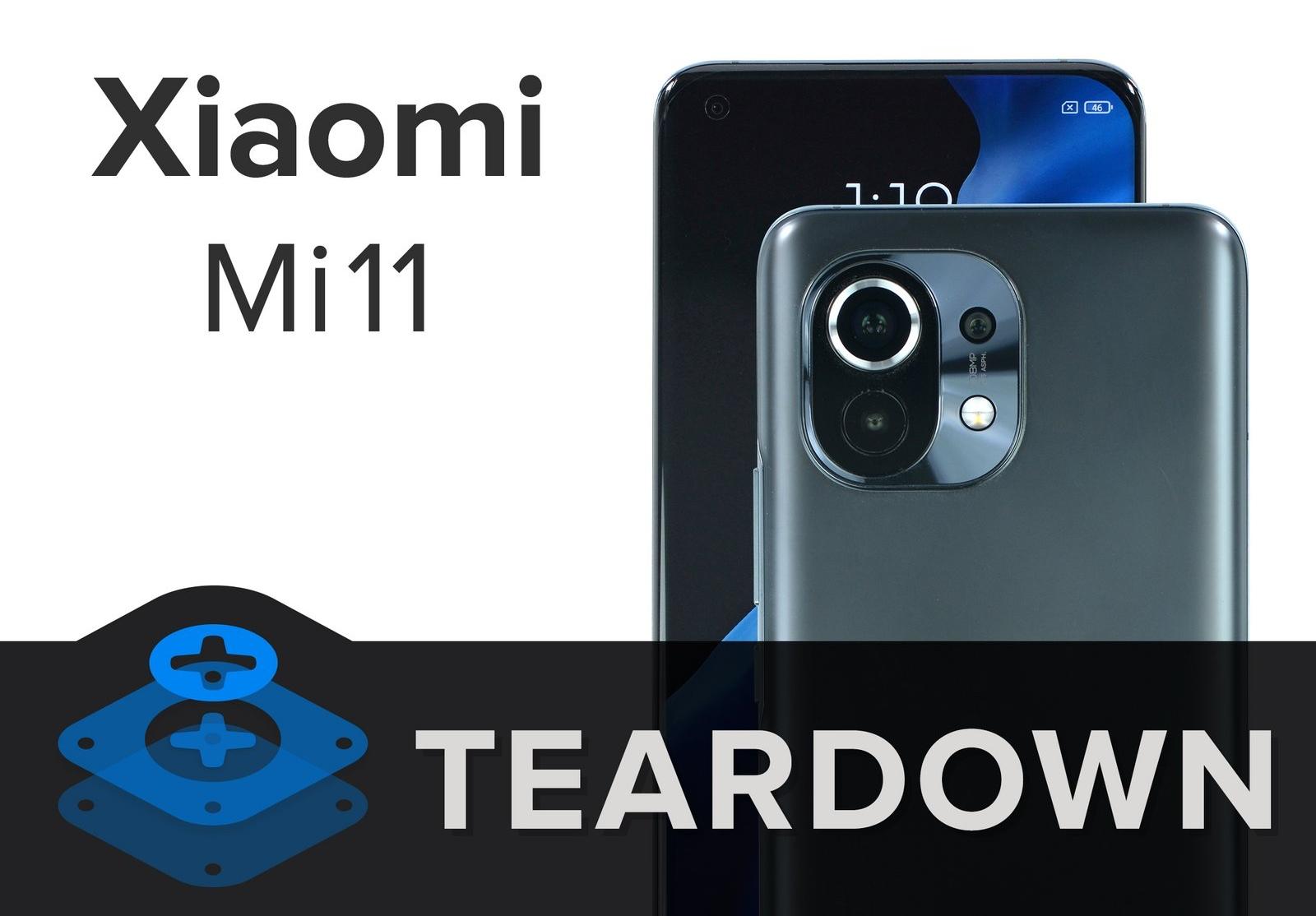 Лучше не ломать: iFixit разобрали Xiaomi Mi 11 и выяснили тяжело ли отремонтировать смартфон