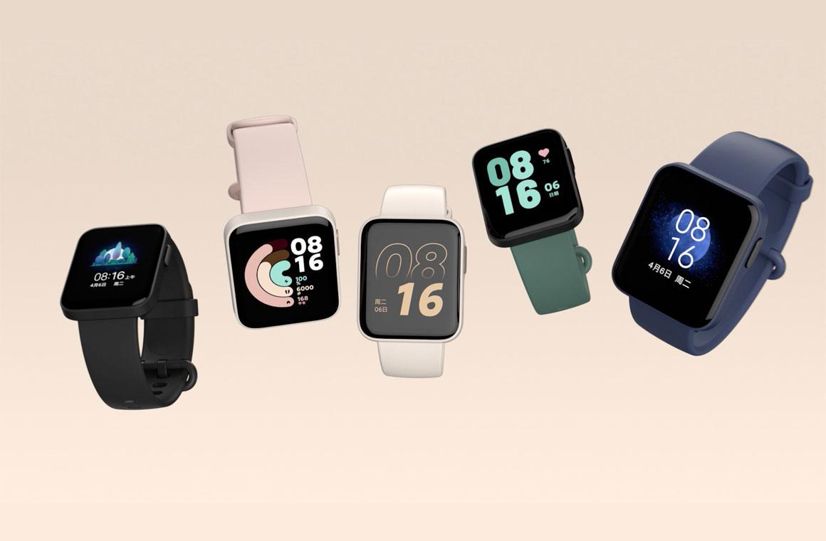 Xiaomi Mi Watch Lite приехали в Украину: смарт-часы в стиле Apple Watch с 9 днями автономности за 1 799 грн