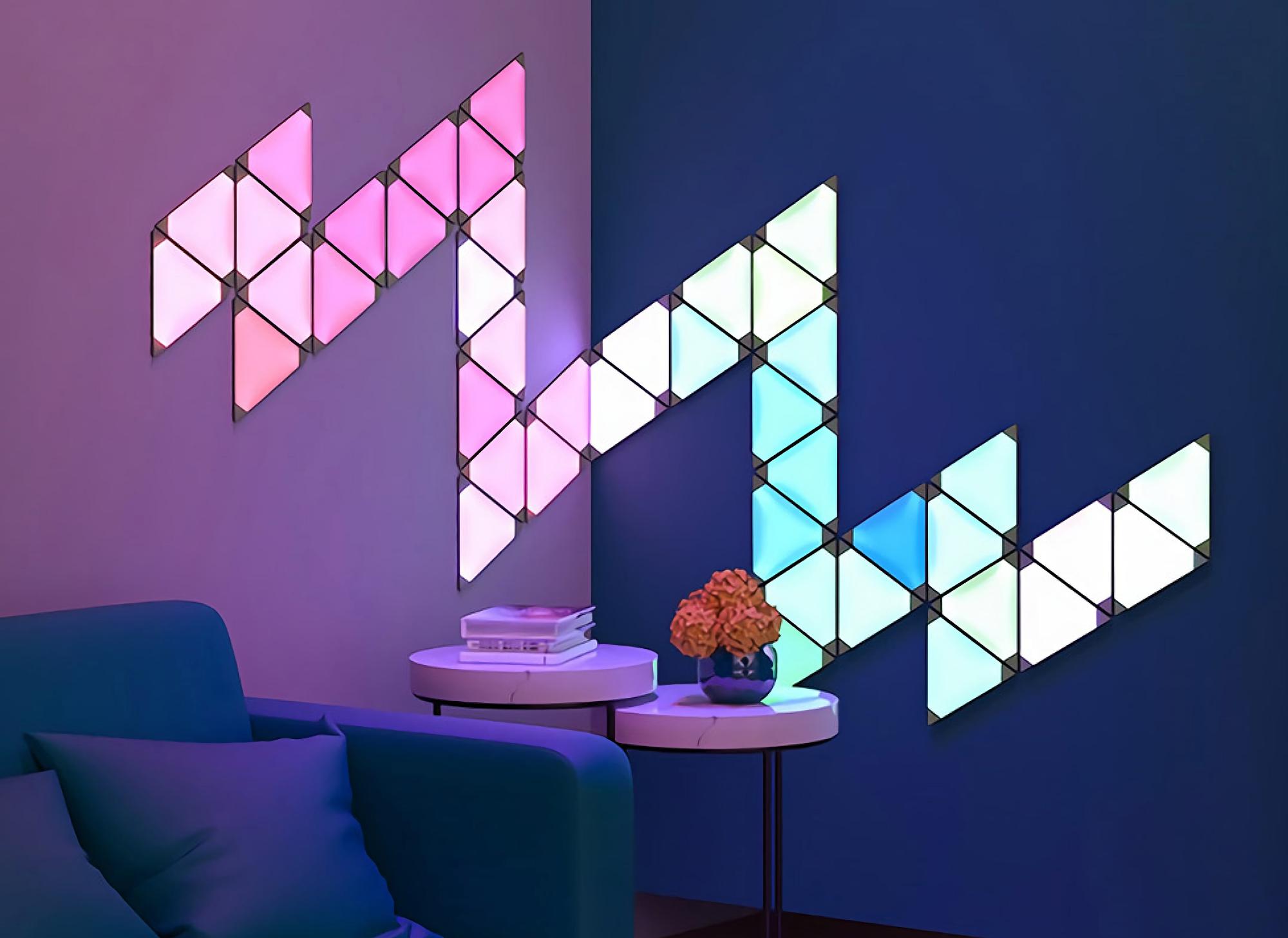 Xiaomi представила Huizuo Smart Light Panel Wall Lamp: световая панель за $15, которая умеет подстраиваться под звук