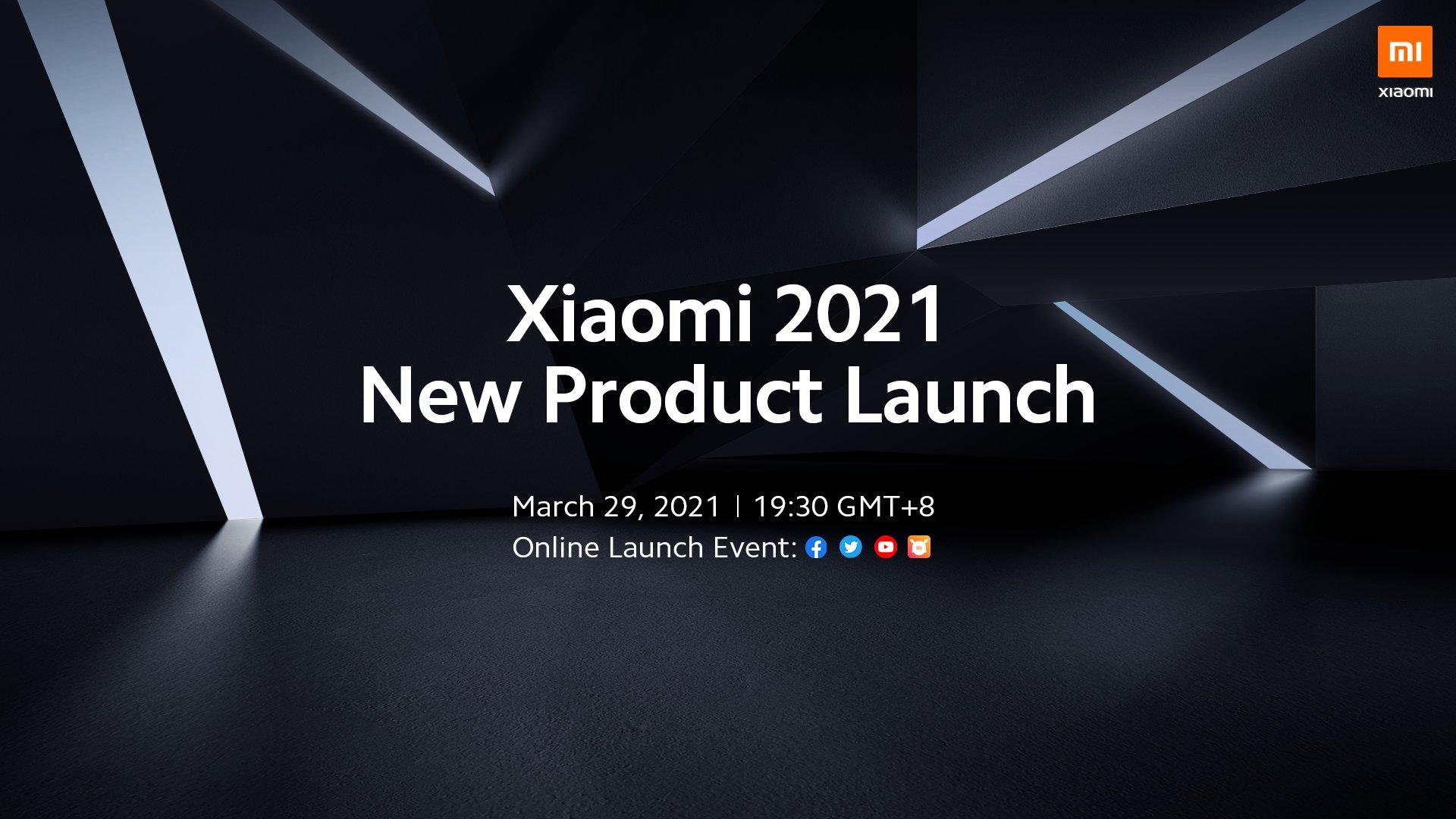 Xiaomi 29 марта проведёт глобальную презентацию: ждём смартфоны Mi 11 Pro, Mi 11 Lite, смарт-браслет Mi Band 6 и ноутбук Mi Notebook Pro 2021