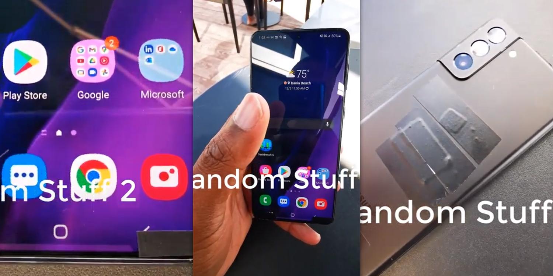 Samsung Galaxy S21 Plus c ультратонкими рамками и тройной камерой появился на видео