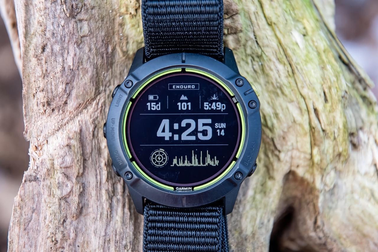Garmin Enduro: смарт-часы с автономностью до 65 дней, функцией подзарядки от солнца и Garmin Pay за $800