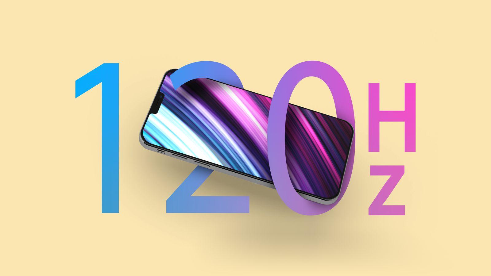Apple запатентовала дисплей с частотой обновления до 240 Гц для будущих iPhone