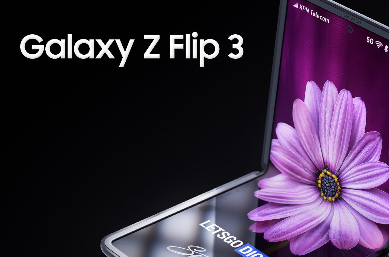 Складной Samsung Galaxy Z Flip 3 показали на рендерах с камерой, как у Galaxy S21