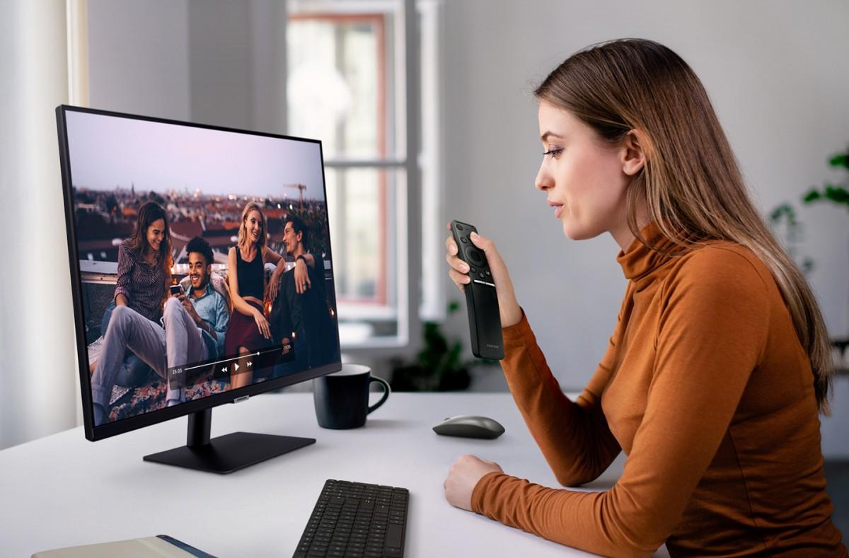 Smart Monitor — первый универсальный монитор Samsung, сочетающий функции дисплея и телевизора