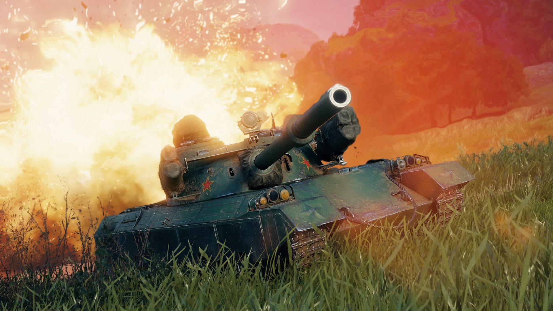 World of Tanks «быкует»: Wargaming запустила «Лунную охоту» на премиум-танк 122 ТМ