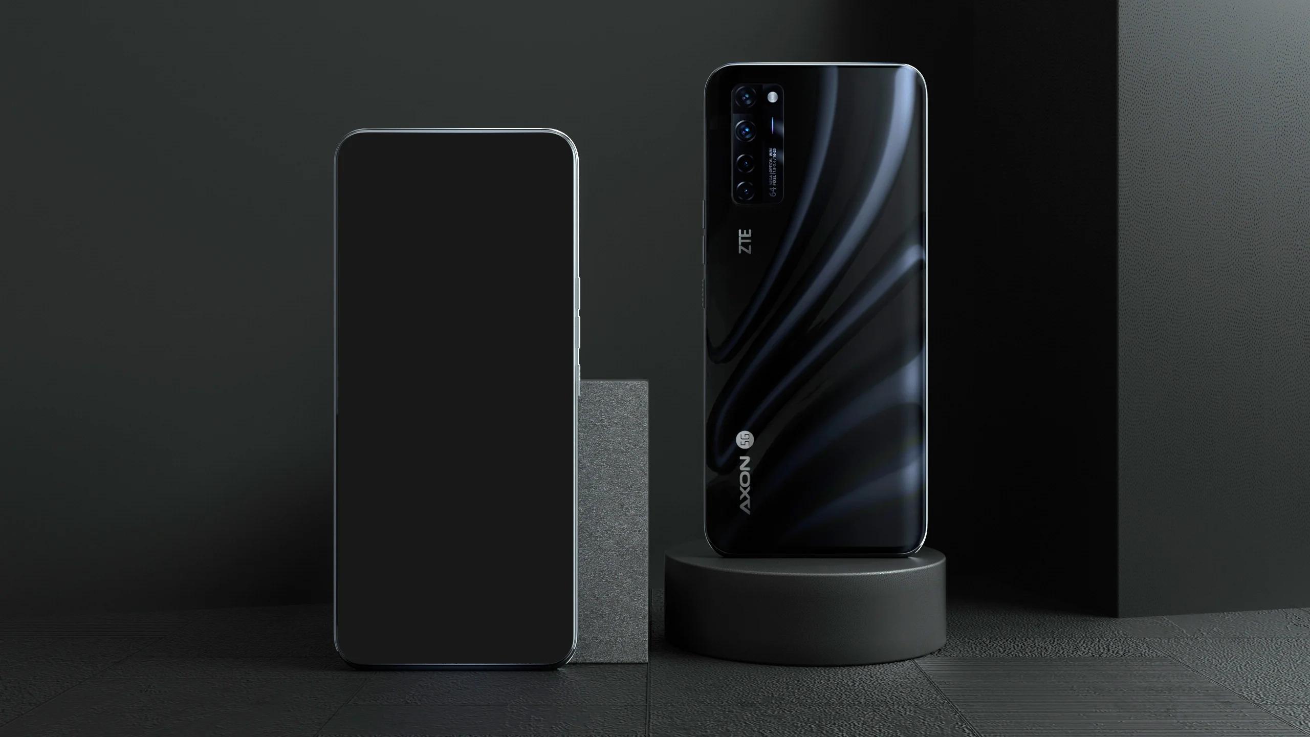 ZTE Axon 20 5G с подэкранной камерой и чипом Snapdragon 765G вышел за пределами Китая