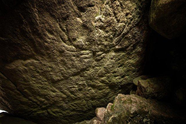 В Шотландии обнаружены уникальные рисунки оленей возрастом 5000 лет