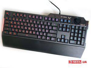 Обзор игровой клавиатуры ASUS TUF Gaming K1: тихо и надолго