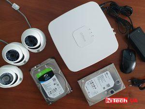 Жёсткие диски Seagate Surveillance для видеонаблюдения на практике